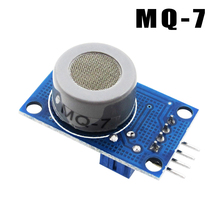 10pcs/lot MQ 7 module Carbon monoxide gas sensor detection alarm MQ7 sensor module