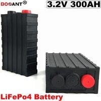 3.2V 300Ah LiFePo4 Lithium battery Deep cycle 36V 48V 72V LiFePo4 Lithium Battery For Electric Bicycle EV Solar Energy Storage