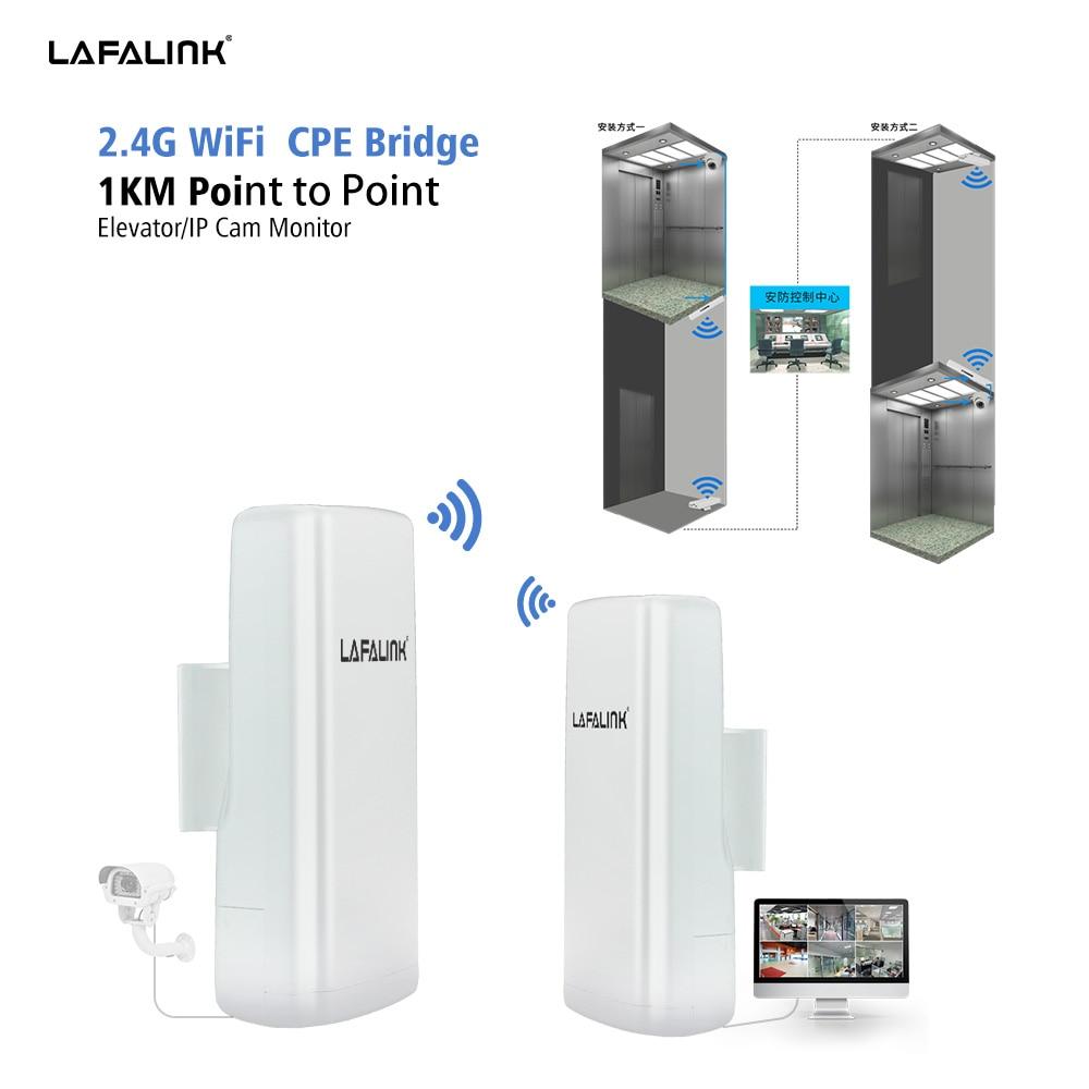 2km Wisp Long Range Outdoor Cpe Wifi Router 2 4ghz