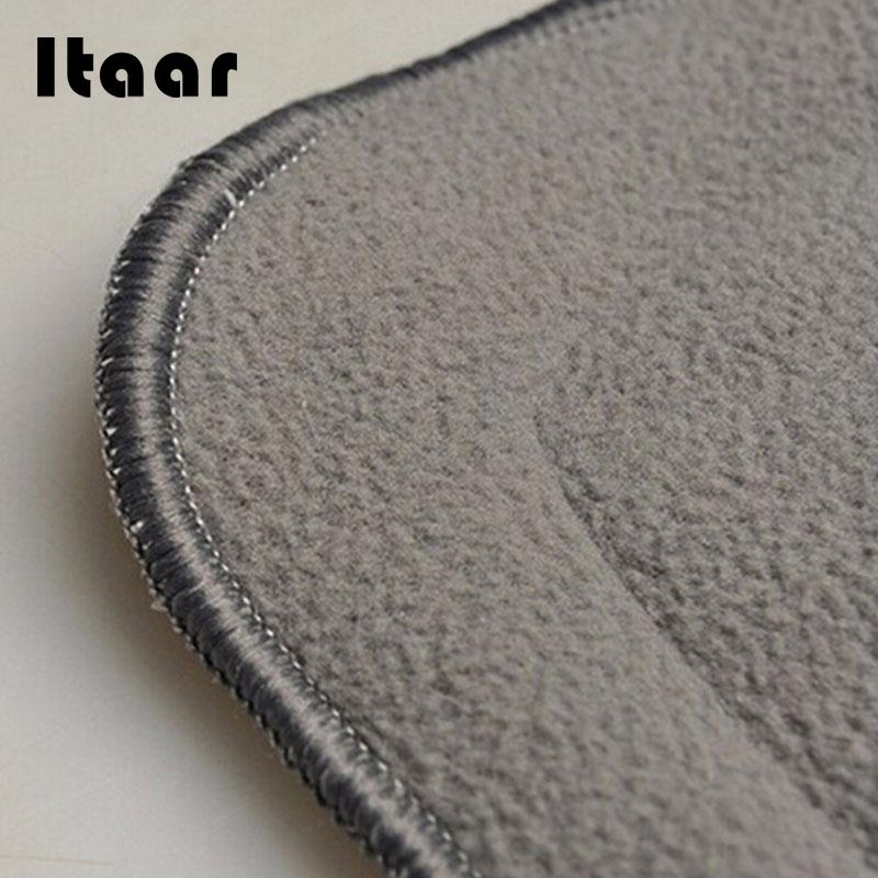 4 Layers Soft Reusable Baby Bamboo Charcoal Cotton Liners For Cloth Diapers