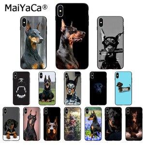 MaiYaCa Animal Dachshund Doberman dog Phone Cover for iphone SE 2020 11 pro X XS MAX 66S 7 7plus 8 8Plus 5S SE XR(China)