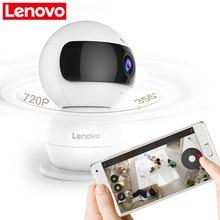 LENOVO WiFi IP Camera  Snowman R Wireless Mini HD 720P Monitor & PTZ Video Surveillance cctv Camera Motion Detector