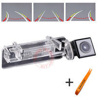 CCD Car Track Camera Reversing Trajectory For Mercedes Benz Smart R300 C Parking Back Up Camera