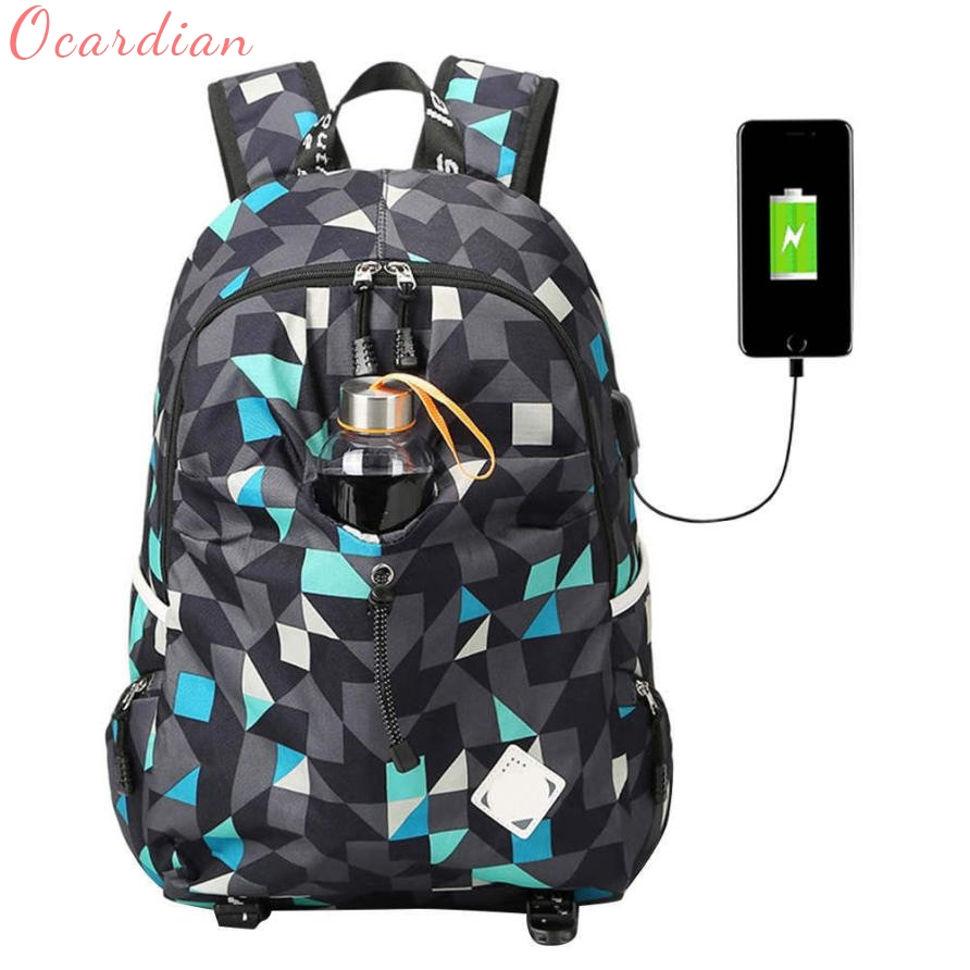 Backpack Student College Waterproof Nylon Backpack Men Women Material Escolar Mochila Quality Brand Laptop Bag School Oct3