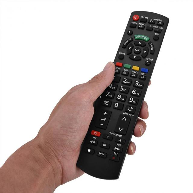 US $5 75 9% OFF Replacement Smart TV Remote Control Television Controller  for Panasonic N2QAYB000487 Smart TV-in Remote Controls from Consumer