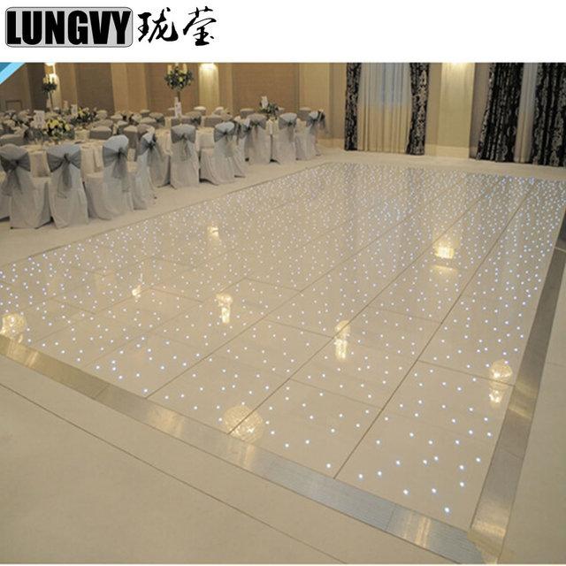 2ft*2ft Interactive LED Dance Floor Light for party wedding nightclub DJ Pub