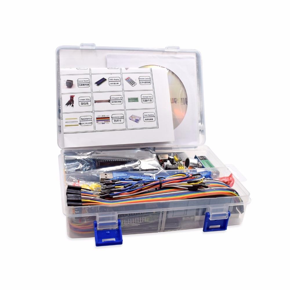 2018 горячая Распродажа проект Супер Starter Kit для UNO R3 MEGA 2560 робот нано макет Наборы с картонной коробке