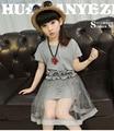 Meninas vestidos de verão vestido de renda menina roupa do bebê da criança de malha princesa adolescente menina 10-13 anos de idade do bebê roupa dos miúdos vestidos de menina