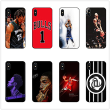 DK Derrick Rose Minnesota phone case black soft cover for Samsung s8 s9plus S6 S7Edge S5 iPhone 6 6s 7 8plus 5 X XS XR XSMax