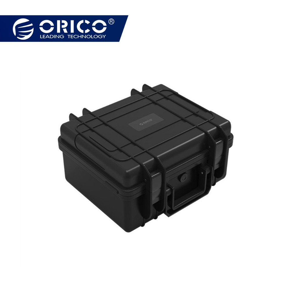 GroßZüGig Orico 30 Bay 2,5 3,5 Zoll Festplatte Schutz Fall Wasser-proof Shock-proof Beweis Funktion Sicherheit Schloss Und Snap Design Guter Geschmack Staub