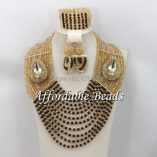Free Shipping African Wedding Beads New Arrival Fashion Jewelry Beads Set Handmade Designed ABW069Free Shipping African Wedding Beads New Arrival Fashion Jewelry Beads Set Handmade Designed ABW069