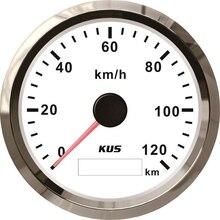 Новый датчик скорости KUS 85 мм GPS 120 км/ч, измеритель скорости, одометр, мотовездеход, мотовездеход, мотоцикл, Морская Лодка, багги, гольф, тележ...