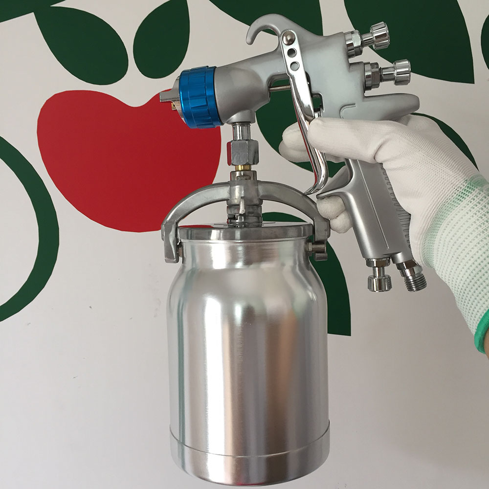 SAT0081 spray paint chrome air paint sprayer machine pistola pintura airbrush compressor powder coating airbrush gun