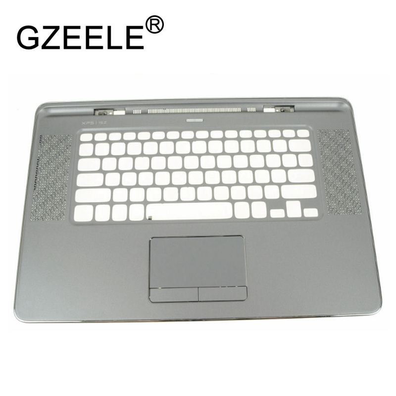 GZEELE new Palmrest topcase for DELL XPS 15Z L511Z US layout Keyboard bezel Upper cover with Touchpad top case silver 00XN7R цена