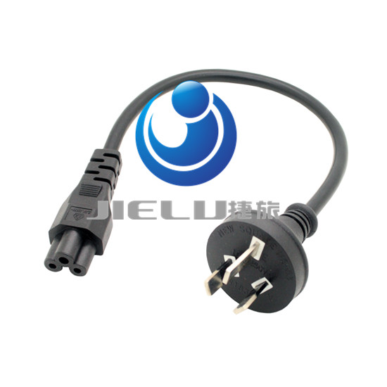 Australia GB 3PIn turn Mickey Mouse Power Cord 3 meters GB turn IEC C5 power line,10 pcsAustralia GB 3PIn turn Mickey Mouse Power Cord 3 meters GB turn IEC C5 power line,10 pcs