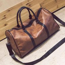 Купить с кэшбэком 2019 New Arrival Large Capacity Women Travel Bags Soft PU Men weekend bag Casual Big Luggage Bag Female Travel Hand Tote Bag
