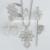Prata escuro Etíope Cruz conjunto de Jóias Pingente Colares/Brinco/Anel/Pino de Cabelo/Pulseira Habesha Africano Casamento conjunto