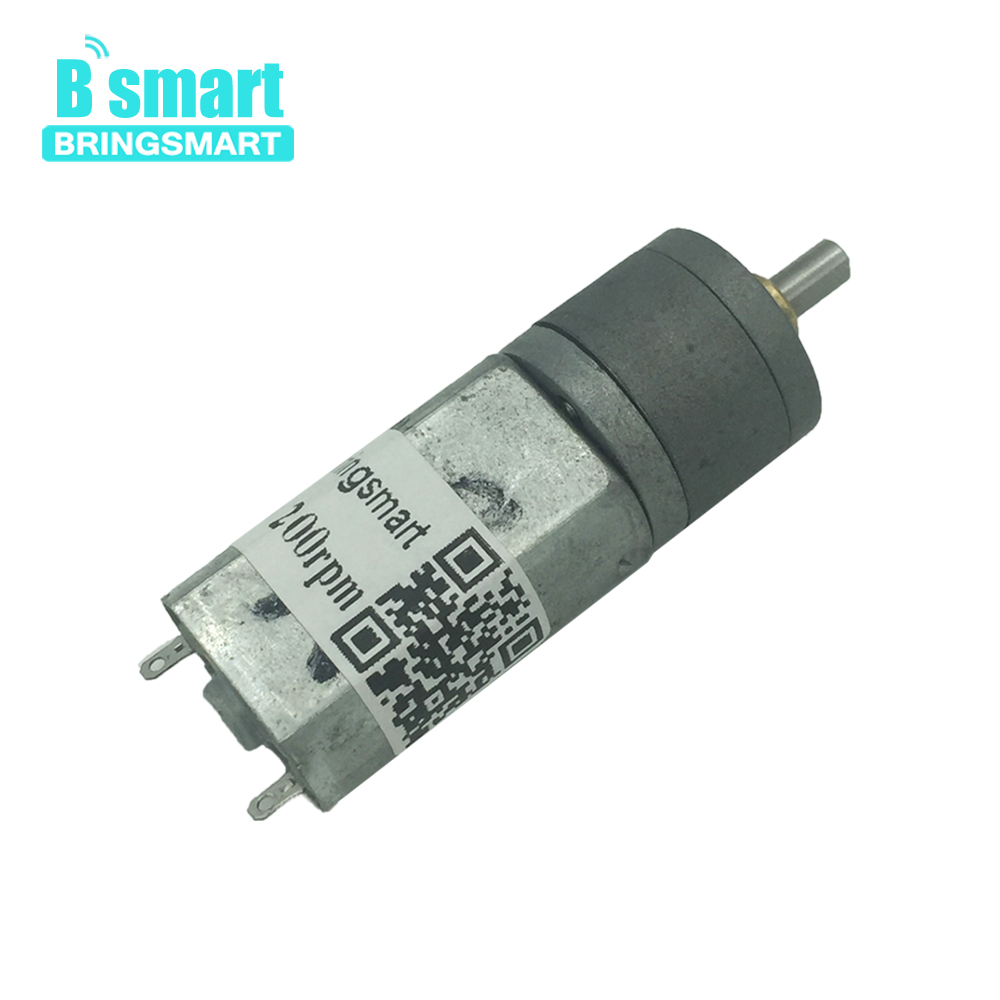 Bringsmart JGA20-180 Gear Motor DC 12 Volt Reduction Gearbox Electric Reversed Motor 24~480rpm Robot Micro Low Speed MotorBringsmart JGA20-180 Gear Motor DC 12 Volt Reduction Gearbox Electric Reversed Motor 24~480rpm Robot Micro Low Speed Motor