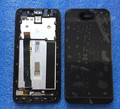 "LCD screen display + Touch digitizer with frame For 5.0"" Asus ZenFone 2 ZE500CL Z00D  black color free shipping"