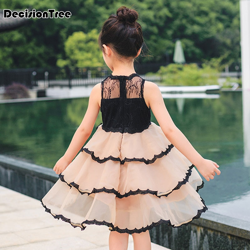 2019 new girls dresses cartoon wings tutu dress for girls kids princess dresses girls clothes robe enfant clothes 2
