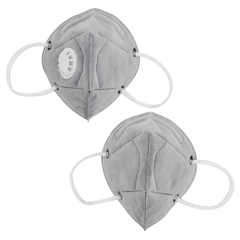 5pcs Fold Disposable Dust Mask Respirator Dust-proof Work Safety Mask For DIY House Clean Carpenter Builder Polishing