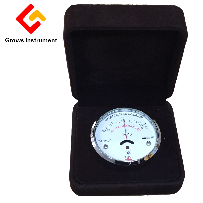 GM-50 Pointer Type Magnetic Field Strength Meter Magnetometer Intensity Meter for Magnetic Powder Flaw Detection