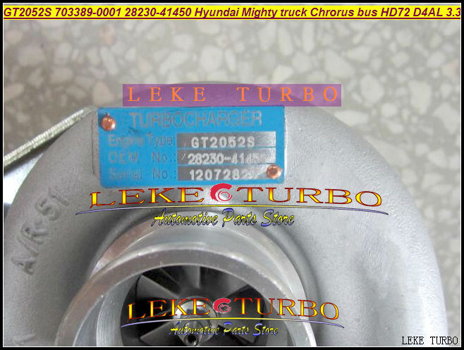 Free Ship GT2052S 703389-0001 703389-0002 28230-41450 703389 Turbo Turbocharger For Hyundai Might Truck Chrorus HD72 D4AL 3.3L  цены