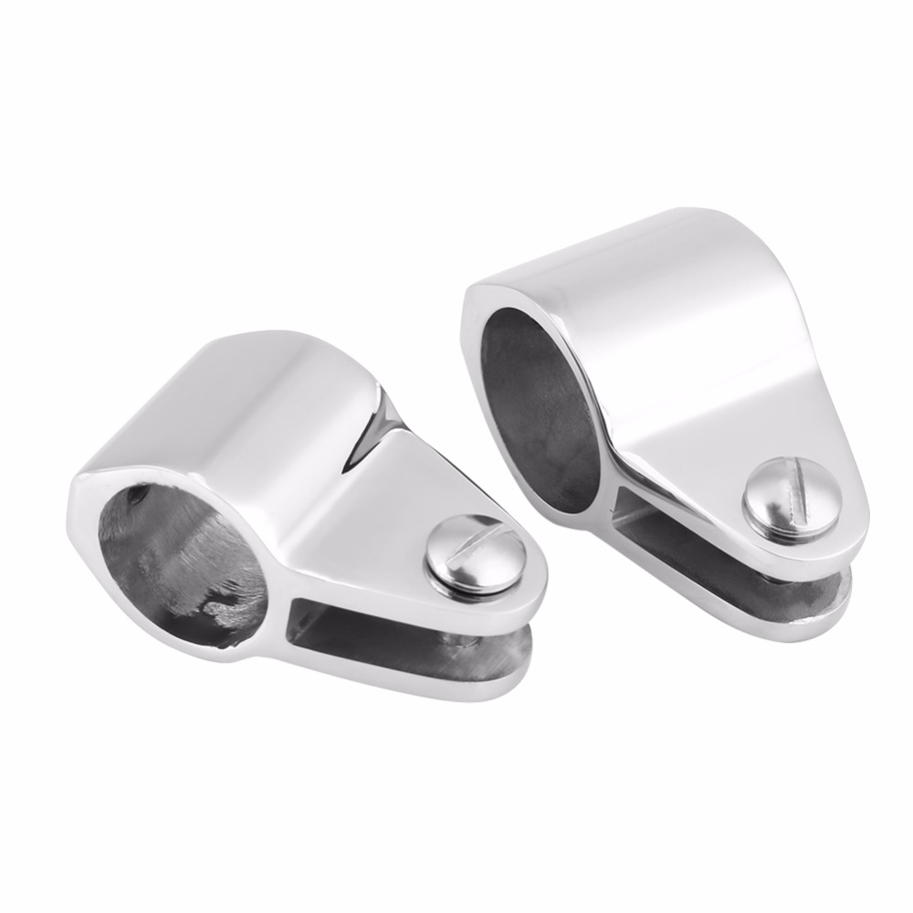 2 Per Pack Marine City of 316 Stainless Steel Jaw Slide for Bimini Top 7//8 Inches Round Tube