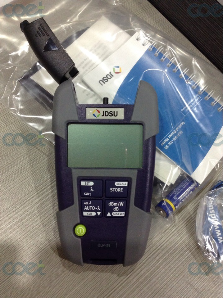JDSU OLP-35 Jdsu Optical Power Meter , FTTH Optical Multimeter Fiber Optical Power Meter by fedex