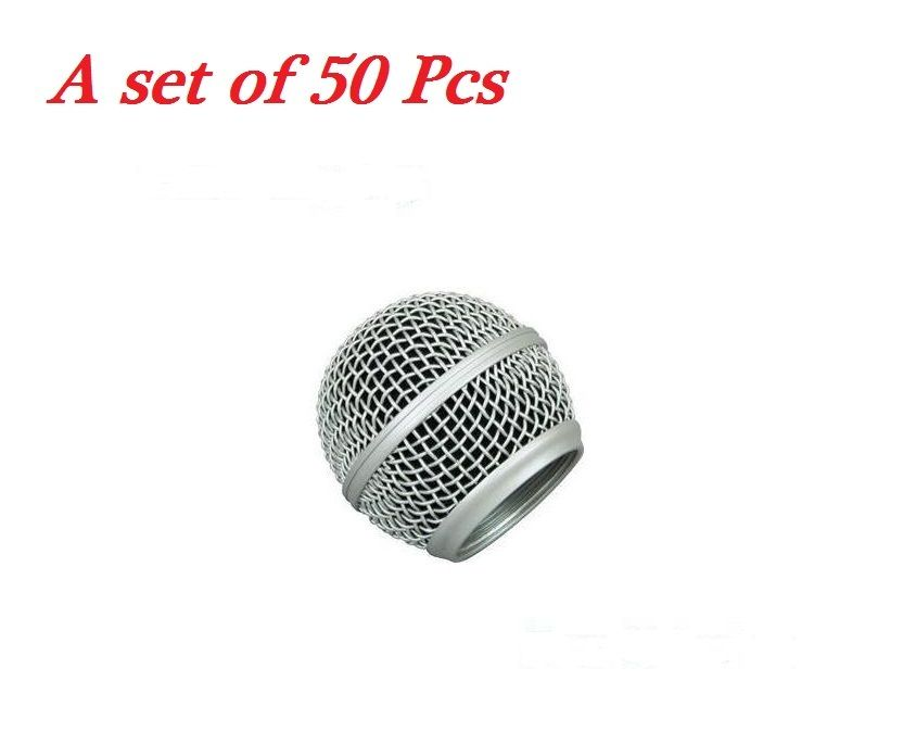 Bolymic A set of 50 pcs Microphone Grille Replacement