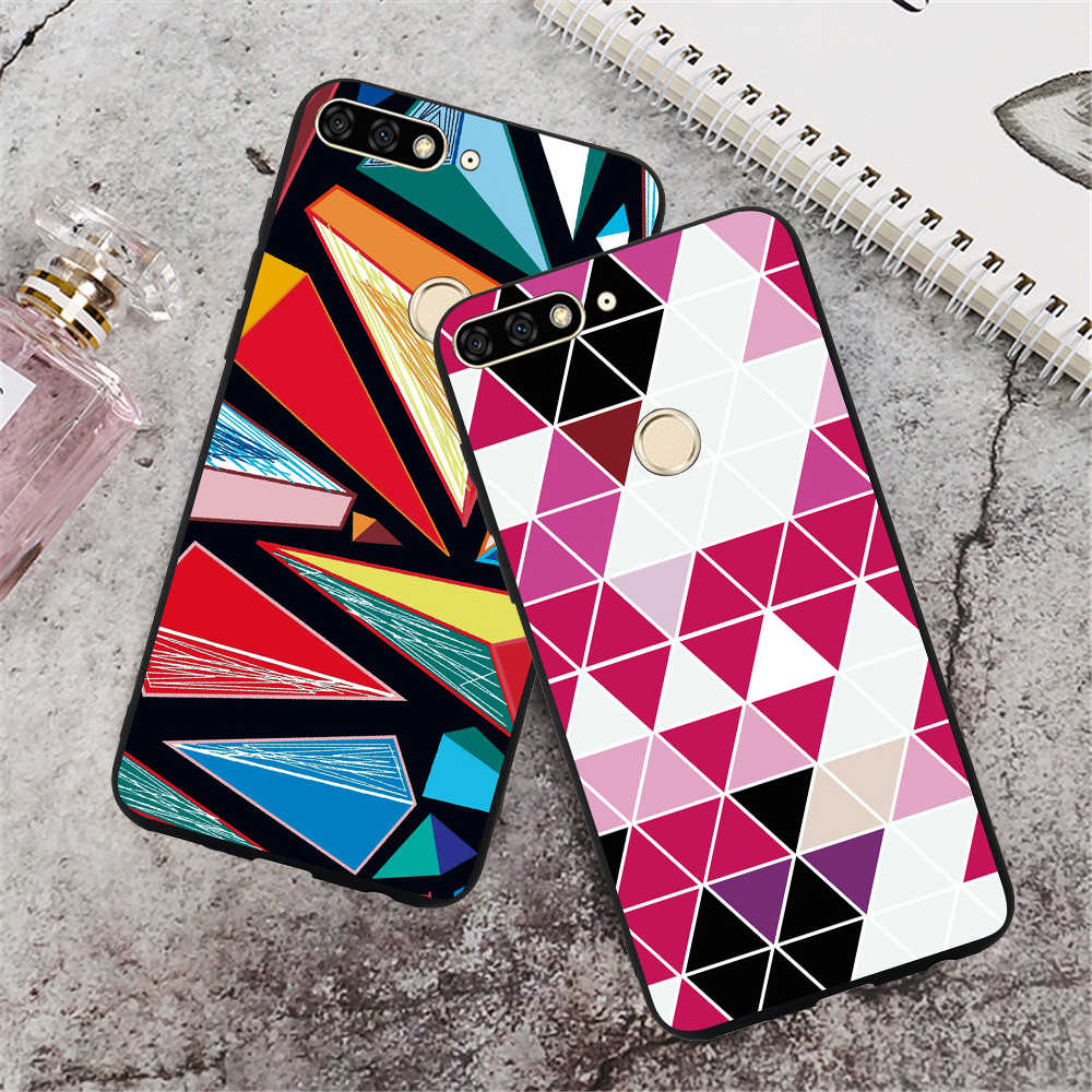 Phone Case For Huawei Nova 3 3i Mate 20 Lite Huawei Y7 Prime 2018 Cases Honor 8X Note 10 Note10 Luxury Marble Soft Case Covers