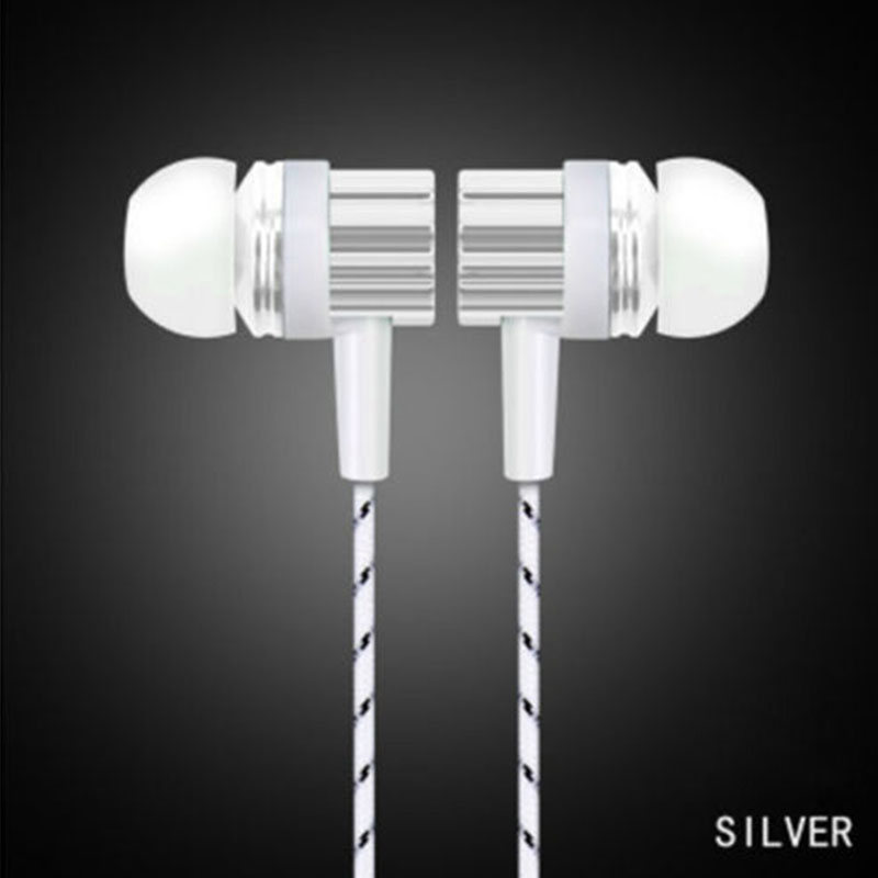 1PCS 3.5mm Wired Earphone Stereo Sports Headset With Microphone Earbuds Earpiece For Smart Phone