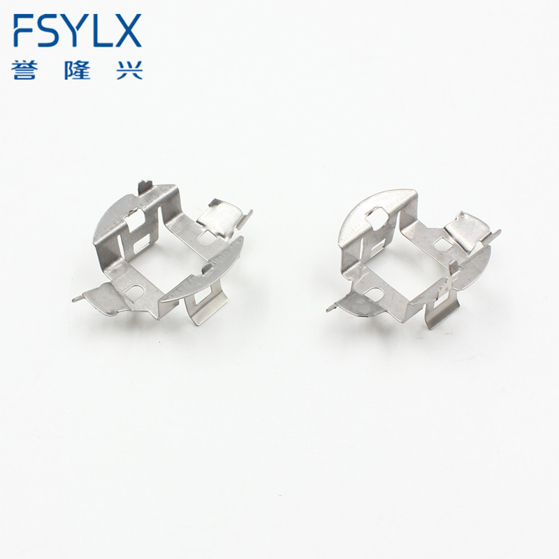 FSYLX 2pc H7 HID Lamp Bulbs Retainer Clips Adapter Holders For BMW/Audi/Mercedes/VW H7 HID Xenon Adaptor For VW Sagitar MAGOTAN