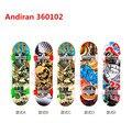 Andiran2017 Alloy Stand FingerBoard Mini Finger boards With Retail Box Skate trucks Finger Skateboard for Kid Toys Children Gift