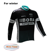 Bora Winter Thermal Fleece Long Sleeve Sport Jersey Super Warm Ciclismo Ropa Maillot Bike Clothes Mtb