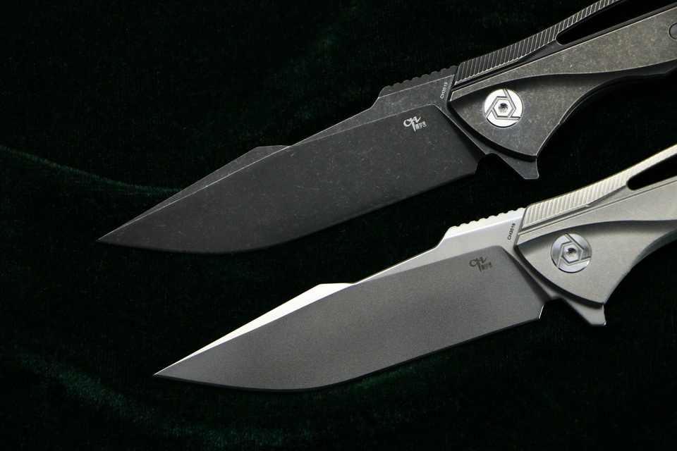 CH CH3519 складной нож s35vn лезвие из углеродного волокна титановая ручка для кемпинга, охоты, карманные Фруктовые Ножи EDC инструмент