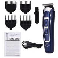 Tondeuse à cheveux électrique Rechargeable rasoir à faible bruit professionnel tondeuse à cheveux sans fil hommes Machine de coupe de cheveux barbe Trimer42