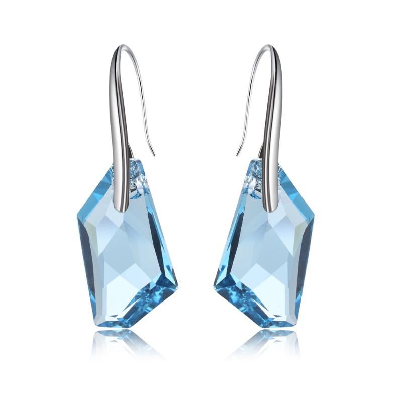 100% qualità Prezzo del 50% più colori Realizzato Con Cristalli Swarovski calda di charme orecchini di ...