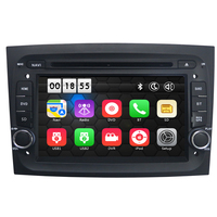 Two Din 7 Inch Car DVD Multimedia Player Stereo For Fiat Doblo II 2015 Canbus 3G