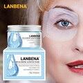 LANBENA Retinol Hyaluronsäure VC Auge Maske Eye Patches Reparatur Auge Linien Reduziert Augenringe Taschen Nähren Trink Auge Pflege