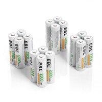 100 шт./лот ebl 2300 мАч AA Батарея Ni MH Замена Батарея Аккумуляторы для Игрушечные лошадки фонарик оптовая продажа Бесплатная доставка