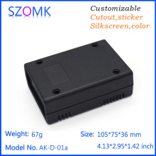 10 pieces a lot szomk plastic enclosure 105 75 35mm electronics outlet enclosures electronical junction box