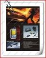 Alemanha SPY 2-way sistema de segurança alarme de Carro display LCD car motor de arranque remoto do Sistema de Protecção 2 C1S-808 JJJ Frete grátis