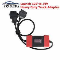2019 high quality Launch 12V to 24V Adapter Launch Heavy Duty Truck Diesel Adapter Cable for X431 Easydiag2.0/3.0 Golo Carcare