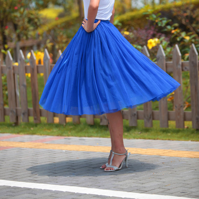 Custom Made Adults Teens Women 7 Layers Tulle Tutu Skirt Princess - Women's Clothing