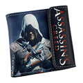Assassins Creed Wallets With Tags Assasins Creed Game Toy Assassins Creed Wallet Purse Cosplay Costume Accessory Props
