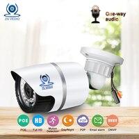 ZSVEDIO Surveillance Cameras POE HD IP Camera Alarm System Cameras POE HD IP Camera Outdoor CCTV