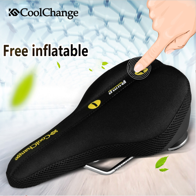 CoolChange bicycle saddle seat MTB road bike accessories after the rear seat cushion cover sets Cycling Equipment bicycle saddle bike child back seat pu leather cushion bike child seat with back rest bike accessories