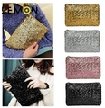 2017 New Fashion Women Clutch Bags Dazzling Glitter Sparkling Women Handbag Fashion Sequins Women Evening Bag A750