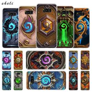 Sheli Hearthstone classic Transparent Note 10 Case Cover for Samsung Galaxy S20 S6 S7 S8 S9 Plus Edge Mini s10 uitra(China)